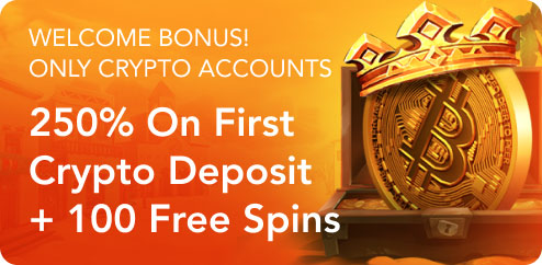 Welcome Bonus! Only CRYPTO accounts